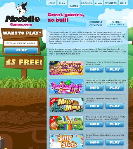 online casino for mobile payment