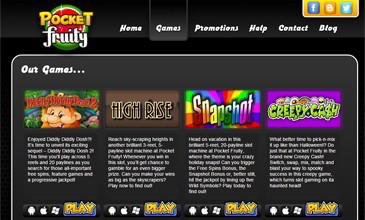 Pocket Fruity Casino Games
