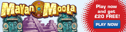Play Mayan Moolah Phone Slots at LadyLucks Online Casino in HD! Bets from only 1p per line - Max £20,000 Payout!
