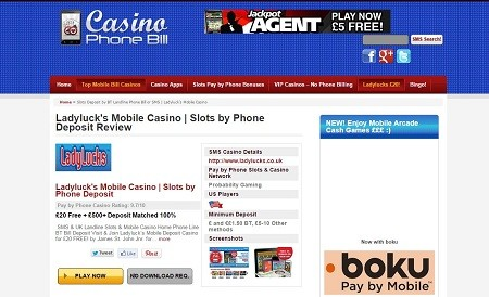 Get Free Mobile Casino Games