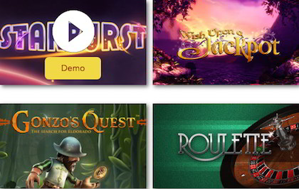 best UK slots and table games