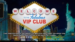 VIP Club £500 Welcome Offers
